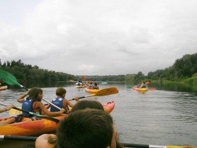 Kayaking Route Through Miravet + Benifallet Kid 2h