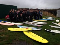 Surfing is great fun for groups