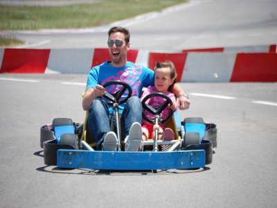 Two-Seater Karting in San Javier - 8 mins