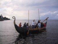 The Isle of Arran-Viking Long Boat