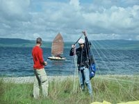The Isle of Arran-Groundhandling on the Shore