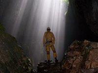 Explore caves