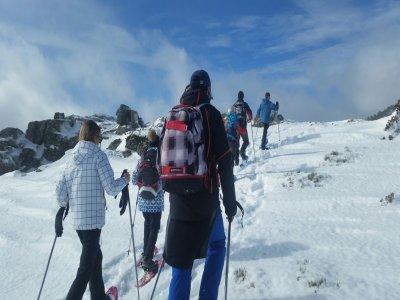 Snowshoeing trip to Peñalara glacier