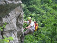 Ken on French Via Ferrata