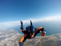 Thrilling jump