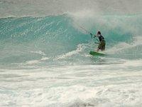 Chris Kitesurfing