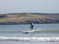 Riding a little wave