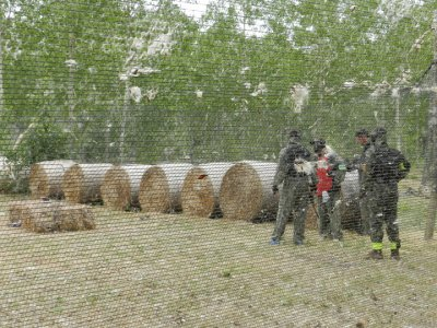Paintball 200 balls barbecue and hotel 3* León