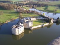 Leeds Castle from the air!