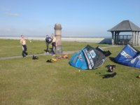 Kitesurfing Students Greatstone