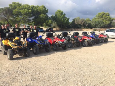 Guided quad route in Ciutadella, 3 hours
