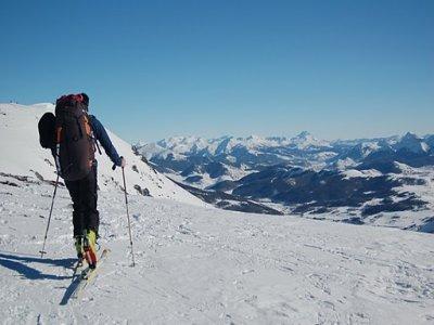 Parapente Ciconia Esquí de Fondo