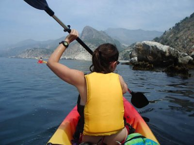 Kayaking session + light sailing near Benamejí