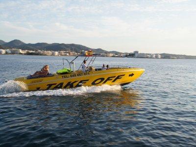 Boat trip along the coast of Ibiza, adults