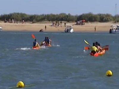 Kayaking rent 1 hour, Huelva