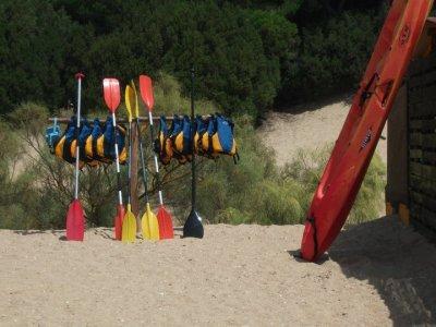 Paddle Surf material rental 1h Huelva