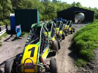 Off-Road Karting session at Eden Leisure Village