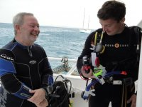 Great dive tours.