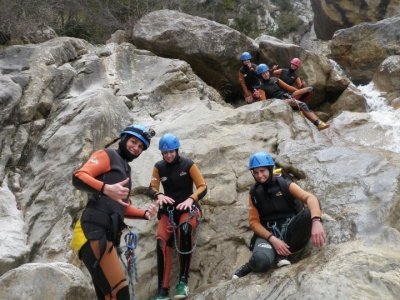 Canyoning initiation course Barcelona
