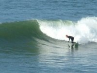 The adventure in surfing