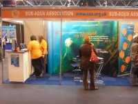 SAA stand at the NEC event