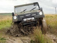 Drive well in muddy conditions