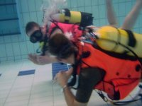 Beginners lesson in Scuba diving