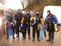 All kitted out and ready to dive