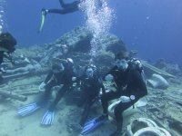 Diving is great to do with friends