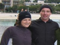A recent graduate of our divemaster course