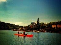 Glass Bottom Canoes
