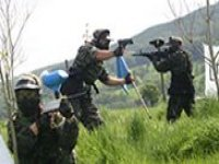 Paintball combat