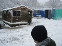 Intense winter combat