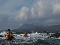Kayaking can be challenging and exciting
