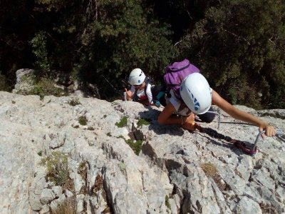 Via Ferrata tour for beginners in Barcelona
