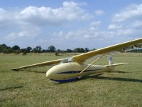 Another glider at Staffordshire Gliding Club