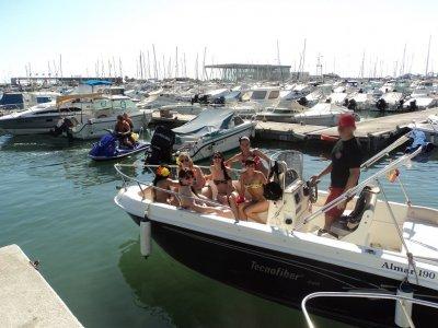 5h Bachelor/ette Party Boat+ Appetizers in Denia