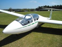One of our gliders at Devon & Somerset Gliding Club