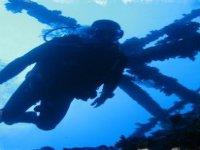 A night diver