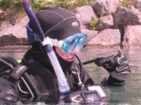 An open water diving