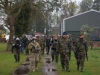 Private Army on the Move!