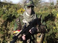 Kitted out and ready for action