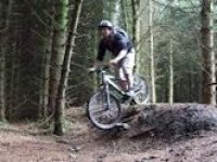 forest biking