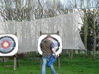 Archery in Blackpool.