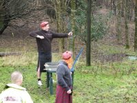 Part of the mini highlander games.