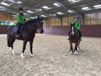 Indoor Hacking at Lavant House Stables