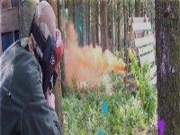 The smoke grenade