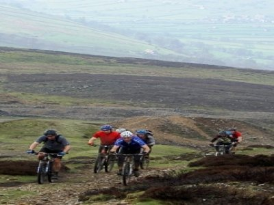 Above & Below Mountain Biking
