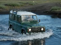 Off Road in the River