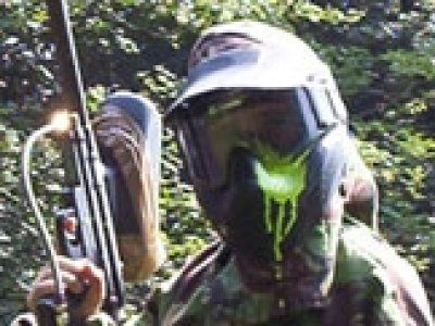 Outdoor Action Paintball